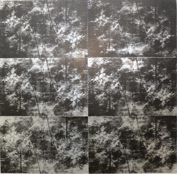 Brice Lautric, Paysage n°7,sérigraphie sur plaque offset,147x147,gracieuseté de l'artiste