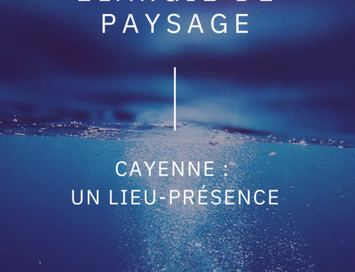 Cayenne: un lieu- présence, Thierry Tian Sio Po