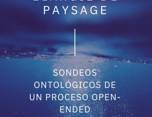 Sondeos ontológicos de un proceso open-ended